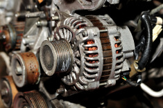 If the car battery is not charging - check the car's alternator