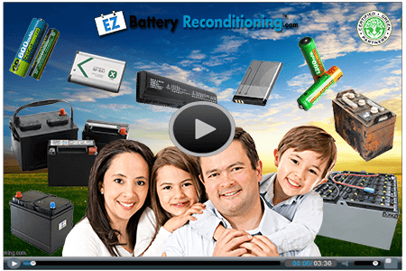 EZ Battery Reconditioning - Video Frame